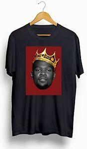 Kevin Durant   KD/Brooklyn Nets   Biggie King T-Shirt