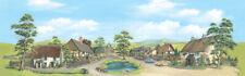 PECO Backscene SK 15 Large Village With Pond