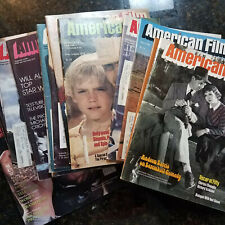 American Film Magazine March 1978 - December 1979. Your Choice