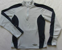 Asics Women's Stretch Polyester L/S 1/4 Zip Semi Fitted Athletic Shirt - Small