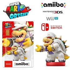 Bowser White Outfit Amiibo Super Mario Odyssey Series Nintendo Switch 3DS Wii U