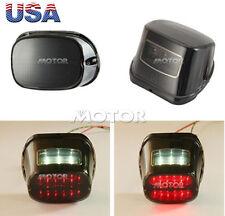 Smoke LED Tail Brake Rear Light for Harley FLHR Road King FLHX Street Glide USA