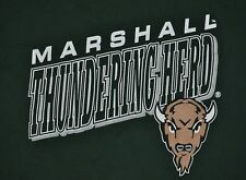 T-SHIRT L LARGE MARSHALL UNIVERSITY THUNDERING HERD FOOTBALL BASKETBALL SHIRT