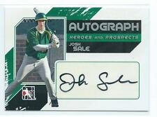 2011 ITG Heroes & Prospects Josh Sale Silver Full Body AUTO AUTOGRAPH RC