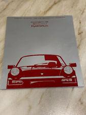 Porsche 911 Carrera 2 1990 Tiptronic Brochure 964 model