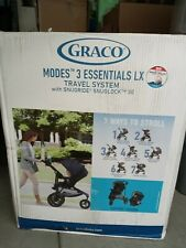 Graco Modes 3 Essentials LX Travel System in Sapphire Fashion