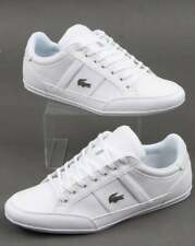Lacoste Chaymon Trainers in White - premium leather shoes