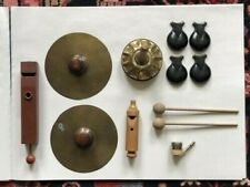 Antique Instruments, early 20th c. Used in performances of Haydn's Toy Symphony