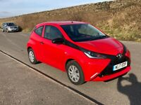 Toyota aygo VVT-I.    2017 stunning only 12,000 miles.    Bargain must be sold