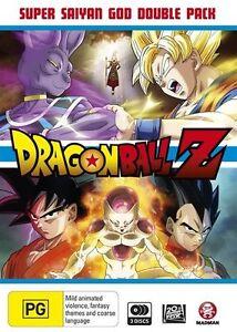 Dragon Ball Z - Super Saiyan God Double Pack - 2 DVD - Box Set - NEW / SEALED
