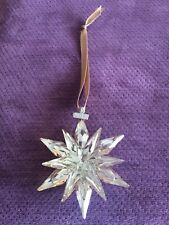 SWAROVSKI Crystal SCS CHRISTMAS ORNAMENT 2011