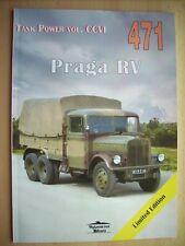 PRAGA RV, PRAGA AV - MILITARIA 471 Janusz Ledwoch NEW!!!