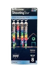 LED lightshow Synchrolight  Shooting Star Multi Color 7 Ft Set Of 8