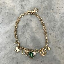 Juicy Couture Lucky Luck Necklace 2008 Limited Edition Green 4 Leaf Clover R