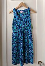 NWT! Lilly Pulitzer Patty Dress in Lagoon Green / Build Me Up ~~ Sz XS