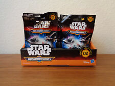 Star Wars Micro Machines Wave 2 Blind Bag Vehicles Lot of 6