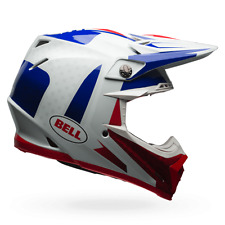 BELL Offroad Helm MOTO-9 CARBON FLEX VICE (57/58) M BLAU ROT