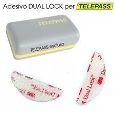 2 PZ DUAL LOCK 3M ADESIVO TELEPASS BIADESIVO VELCRO