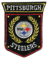 "PITTSBURGH STEELERS NFL FOOTBALL 3"" SHIELD TEAM LOGO PATCH"