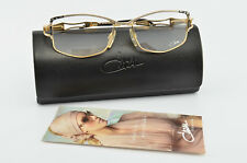 Cazal Glasses Mod. 171 Col. 455 Deluxe Eye Frame Lunettes Gold Black + Case NOS