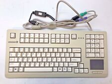 Cherry MX 11900 Keyboard w / Touchpad PS2 / Usb Adapter Medical & Industrial Use