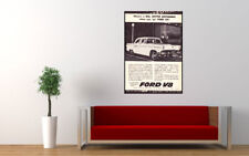 "1956 FORD CUSTOMLINE V8 AD AD PRINT WALL POSTER PICTURE 33.1""x23.4"""