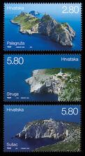 Lighthouses set of 3 stamps mnh 2014 Croatia #913-5