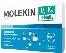 Molekin D3 + K2 + MgB6, 60 tablets