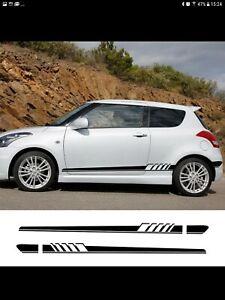 Suzuki Swift Side Decal Sticker