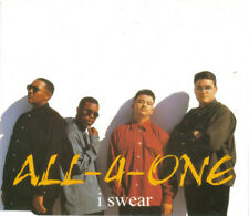 ALL 4 ONE I SWEAR 4 TRACK CD SINGLE