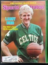 Sports Illustrated Nov. 9, 1981 Larry Bird - The NBA's Best All-Around Player