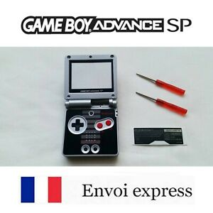 Coque GAME BOY ADVANCE SP edition NES NEUF NEW + tournevis - shell case GBA