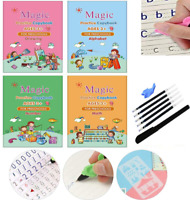 Magic Practice Copybook with Magical Pen, Number Tracing Book for Preschoole New