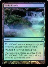 Lorwyn  MTG  Foil  Vivid Creek   Magic