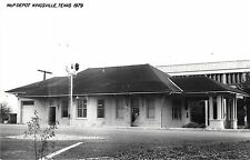 Kingsville Texas MoP Depot Real Photo Reproduction Vintage Postcard (J15095)