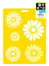 Daisies Stencil, Flower Template Daisy Paint Color Flowers Art Craft by Delta