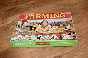Vintage Farming Board Game Rare Retro farm agriculture UK SELLER