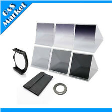 Square Filter Holder+82mm ring Adapter+6 pcs filters for Cokin P Series kit
