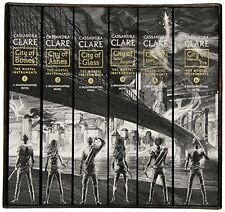 6 Pc The Mortal Instruments Complete Collection Paperback Urban Fantasy Book Set