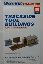 Walthers Trainline HO #931-909 Trackside Tool Buildings -- Kit Form - NEW