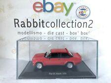 "DIE CAST "" FIAT 131 ABARTH - 1976 "" + TECA RIGIDA BOX 2 SCALA 1/43"