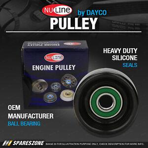 1 x Nuline Idler Pulley for Kia Sorento BL 2.5L 4 Cyl DOHC 16V DTFI Turbo Diesel