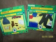 "Madeline Lets Pretend Set of 2 ""Toy Maker and Magician"" - New!"