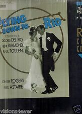 Flying Down To Rio Fred Astaire Ginger Roger Dolores Del Rio Laserdisc