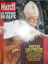 PARIS MATCH 1620 (06/80) Pape Jean-paul II en France