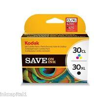 Kodak ESP C315 Serie 30XL Nero & 30 Colore originale OEM Cartucce Inkjet