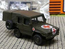 + 1//87 ROSKOPF 205 VW ILTIS Fuoristrada Rosso-Ovp Nuovo