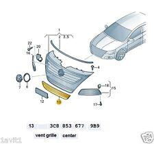Nuevo Original Vw Passat Cc Parachoques Delantero Inferior Centro Rejilla 3c8853677 9b9