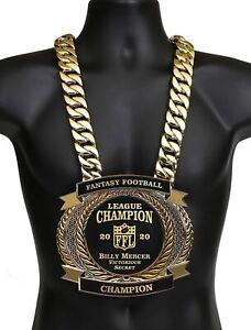 Championship Belt, Neck Belt, Custom, Fantasy Football, All Sports, Personalized