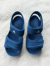 Adidas Boy's Blue Sandals Size 9